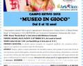 """Campo estivo:""""MUSEO IN GIOCO"""" al Museo R.Brozzi – Traversetolo (PR)"""