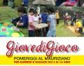 """16 Maggio: """"GIOVEDIGIOCO"""" al Parco del Mauriziano (RE)"""