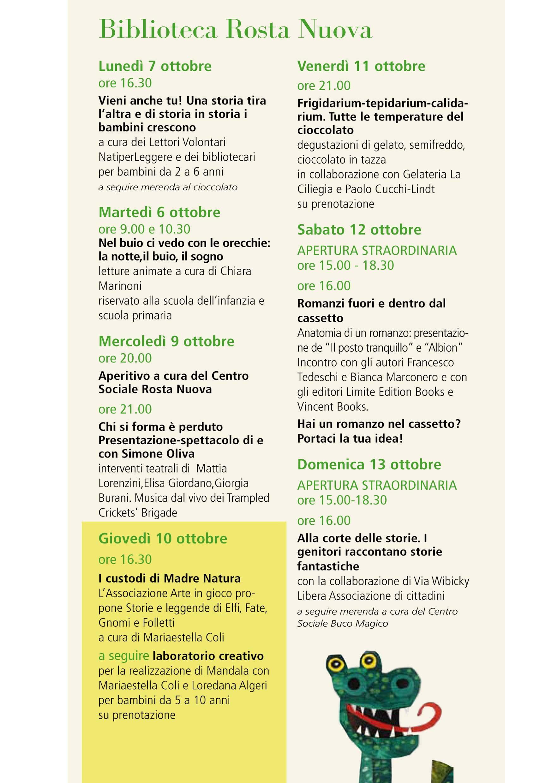 Biblio day Rosta Nuova ARTE IN GIOCO