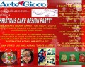 "Sabato 13 Dicembre: ""CHRISTMAS CAKE DESIGN PARTY"" – Reggio Emilia"