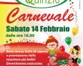 14 febbraio: GRAN FESTA DI CARNEVALE presso Centro Commerciale Quinzio (RE)