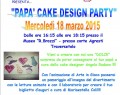 "18 Marzo: ""I love Dad – Cake Design Party"" presso Biblioteca e Museo di Traversetolo."