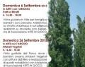 """6 e 20 Settembre 2015:""""ARTE E NATURA"""" disegnare e dipingere al Parco del Mauriziano (RE)"""