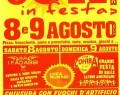 8/9 AGOSTO: Festa del SOLE a VETTO ( RE )