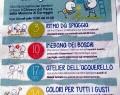 Giovedi 24 settembre: COLORI PER TUTTI I GUSTI – laboratorio al Parco della Memoria di Correggio- RE