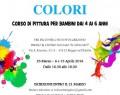 """23 Marzo/6 e 13 Aprile: """"Scopriamo i Colori"""" corso di pittura per bambini 4-6 anni ( RE )"""