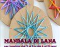 Venerdi 28 Aprile 2017: Atelier MANDALA DI LANA al Centro Sociale Buco Magico – RE