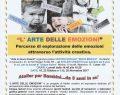 """Dal 16/10 al 20/11/2017: Atelier """"l' ARTE DELLE EMOZIONI"""" a REGGIO EMILIA"""