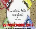 """29 Novembre 2017: """"I COLORI DELLE EMOZIONI"""" sala PETITS LUPS – PARMA"""
